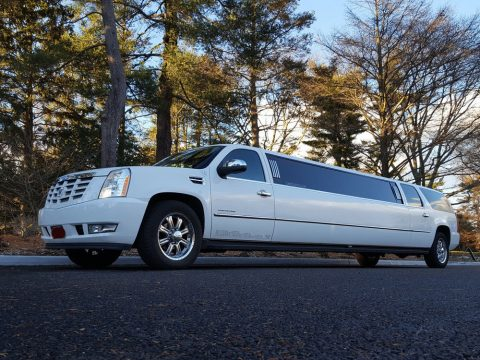 loaded 2008 Cadillac Escalade limousine for sale