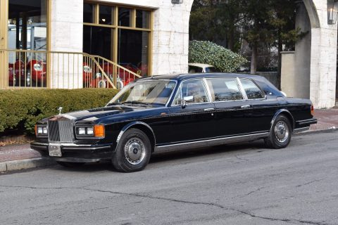 low miles 1993 Rolls Royce Touring Limousine for sale