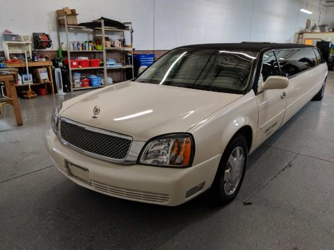 recently updated 2002 Cadillac DeVille Limousine for sale