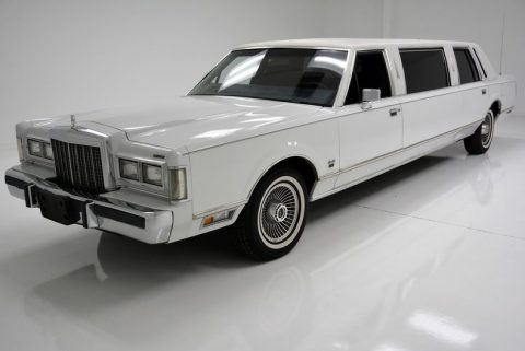 time capsule 1985 Lincoln Town Car Limousine for sale