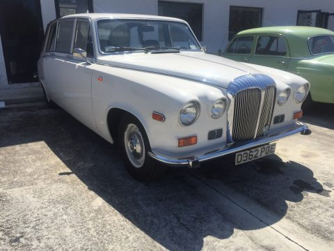 one of a kind 1986 Daimler limousine for sale