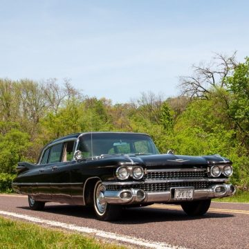 rare 1959 Cadillac Fleetwood Six Window Limousine for sale