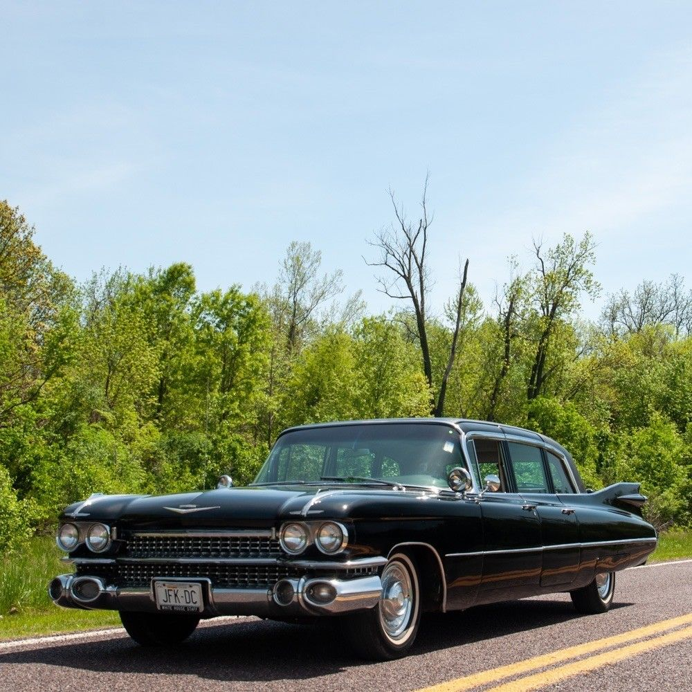 Cadillac V Series For Sale: Rare 1959 Cadillac Fleetwood Six Window Limousine For Sale