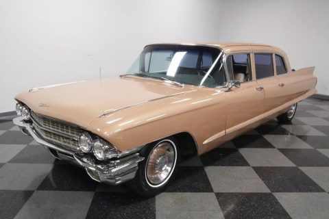 very clean 1962 Cadillac Fleetwood 75 Sedan limousine for sale