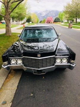 extremely original 1969 Cadillac Fleetwood Series 75 limousine for sale