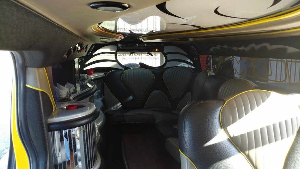meticulously maintained 2007 Hummer H2 limousine