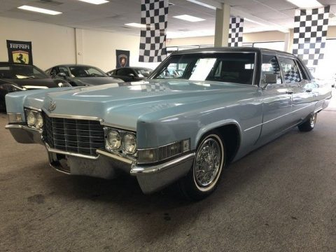 rare 1969 Cadillac Fleetwood limousine for sale