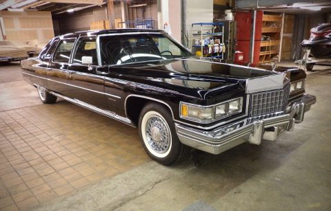 special 1976 Cadillac Model 75 Fleetwod Limousine for sale