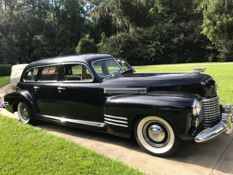 rare vintage 1941 Cadillac Series 67 limousine for sale