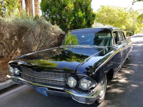 clean 1962 Cadillac Fleetwood 75 Series Limousine for sale