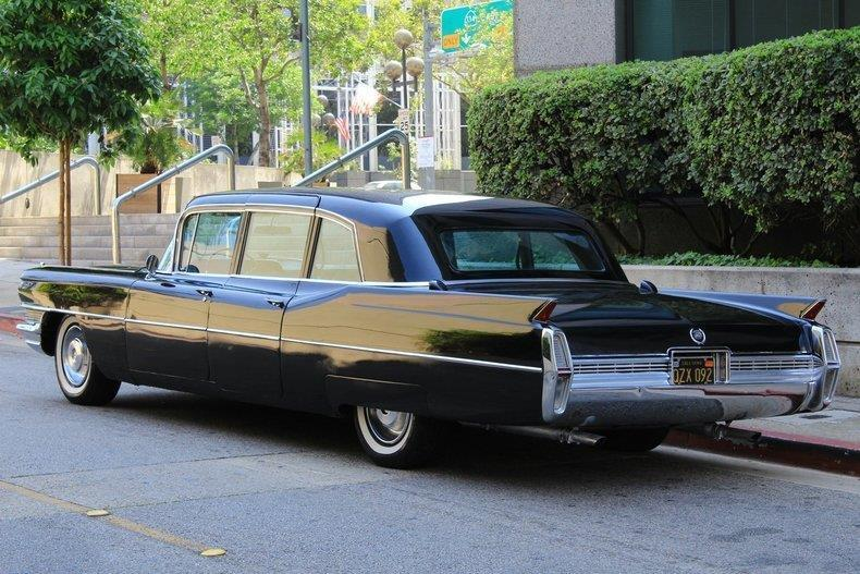 Extremely high optioned 1964 Cadillac Fleetwood limousine