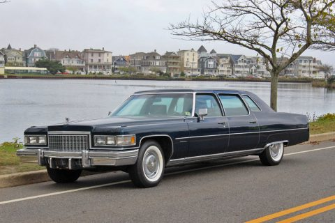 great shape 1976 Cadillac Fleetwood Limousine for sale