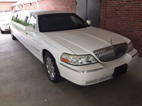 low miles 2005 Lincoln Town Car limousine for sale