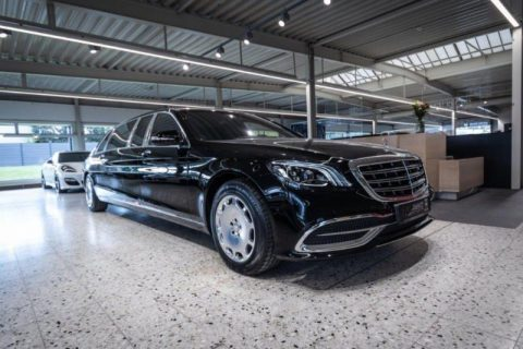 luxurious 2018 Mercedes Benz S Class Maybach Pullman Armoured B6 limousine for sale