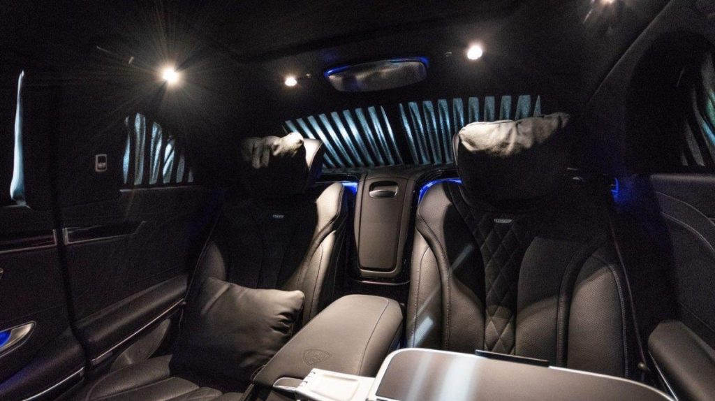 luxurious 2018 Mercedes Benz S Class Maybach Pullman Armoured B6 limousine