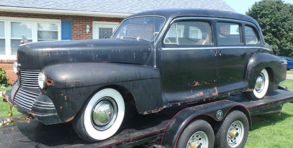 rare 1942 Lincoln Custom Limousine