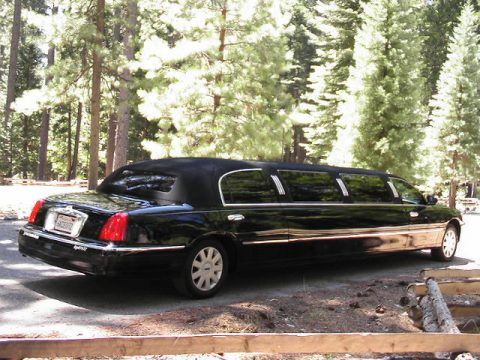 some blemishes 2002 Lincoln Town Car Limousine for sale
