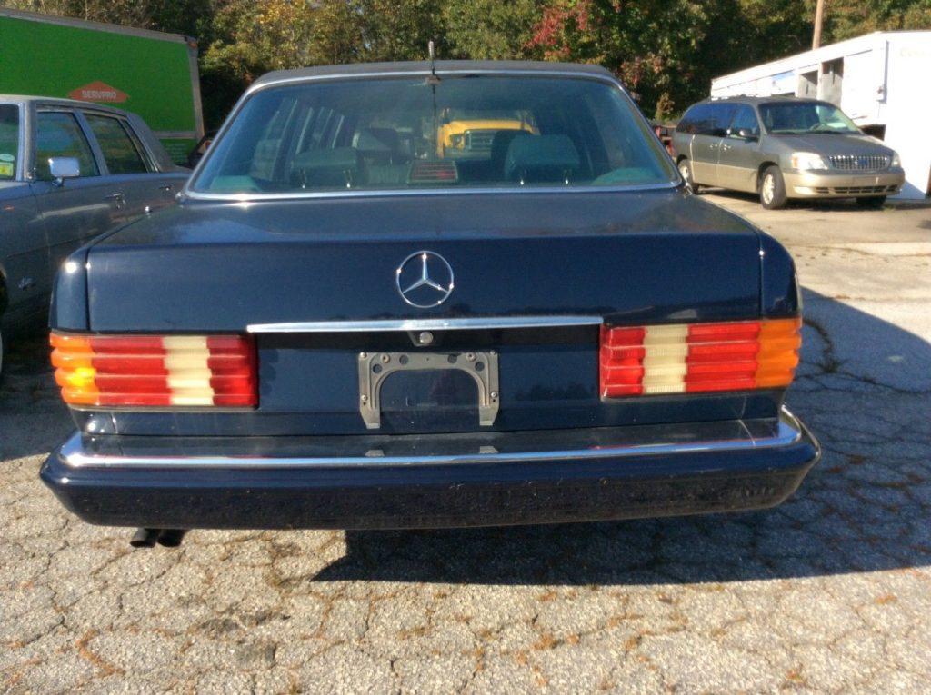 great shape 1991 Mercedes Benz S420 Limousine