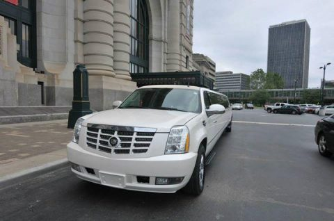 low mileage 2007 Cadillac Escalade limousine for sale