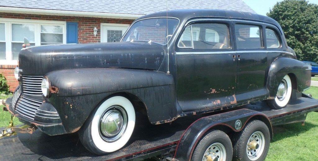 low miles 1942 Lincoln Custom Limousine