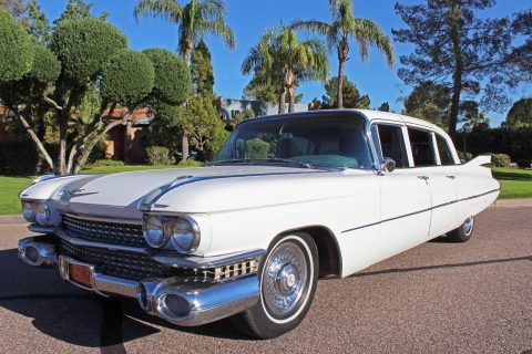 rare 1959 Cadillac Fleetwood Series 75 Limousine for sale