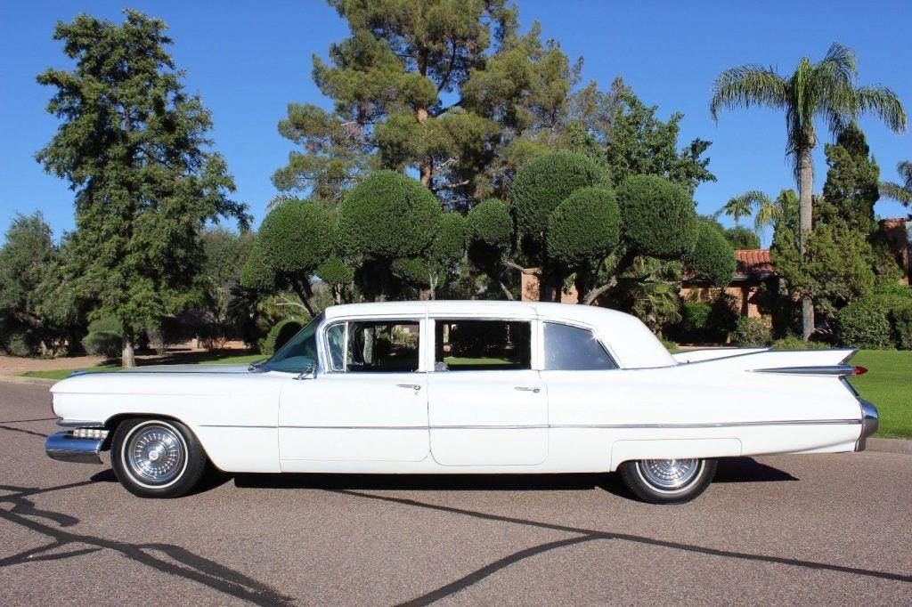rare 1959 Cadillac Fleetwood Series 75 Limousine