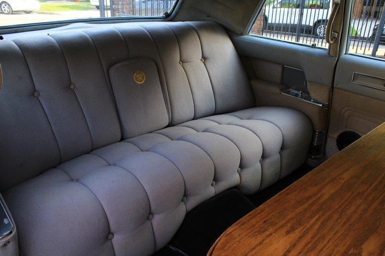 rare equipment 1964 Cadillac Fleetwood Series 75 limousine