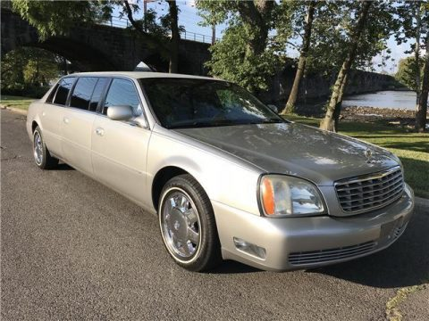 recently serviced 2004 Cadillac Deville Limousine for sale