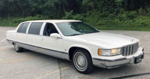 excellent shape 1996 Cadillac Fleetwood Limousine for sale