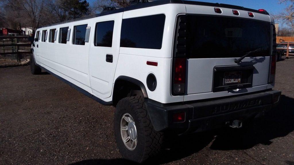 new parts 2005 Hummer H2 limousine