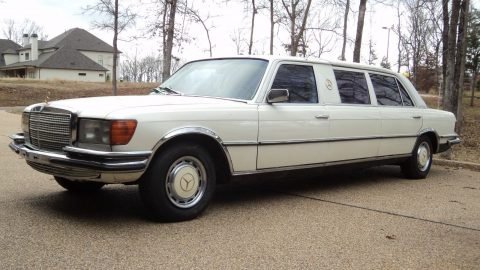 beautiful 1979 Mercedes Benz 450 SEL 6.9 limousine for sale