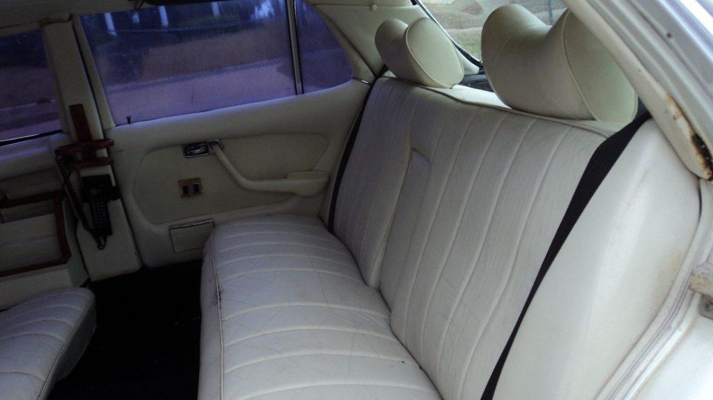beautiful 1979 Mercedes Benz 450 SEL 6.9 limousine