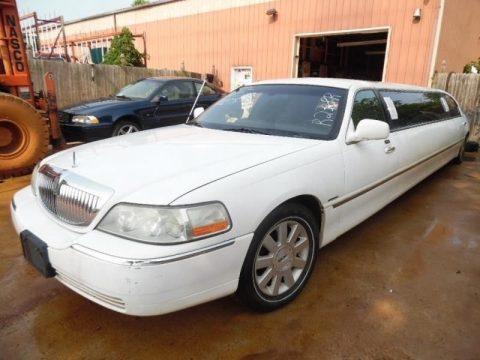 nice 2003 Lincoln Town Car Krystal Coach Limousine for sale