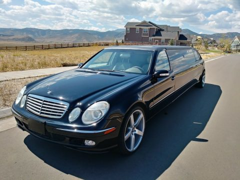 personal limo 2003 Mercedes Benz 500 Series E500 limousine for sale