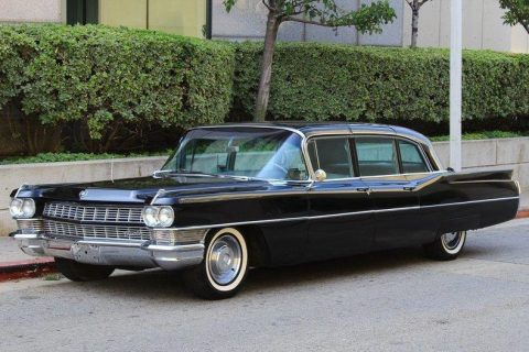 sharp 1964 Cadillac Fleetwood limousine for sale