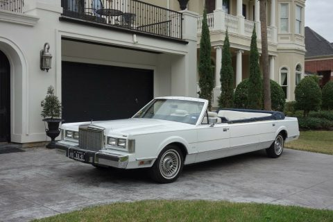 unique 1987 Lincoln Town Car limousine for sale