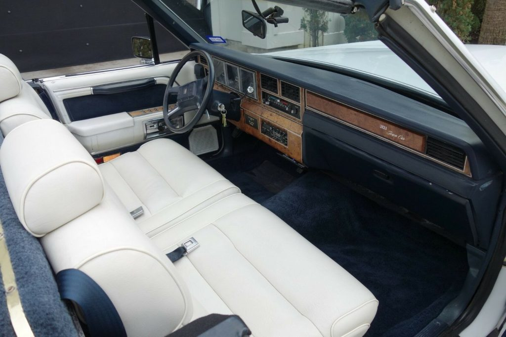 unique 1987 Lincoln Town Car limousine