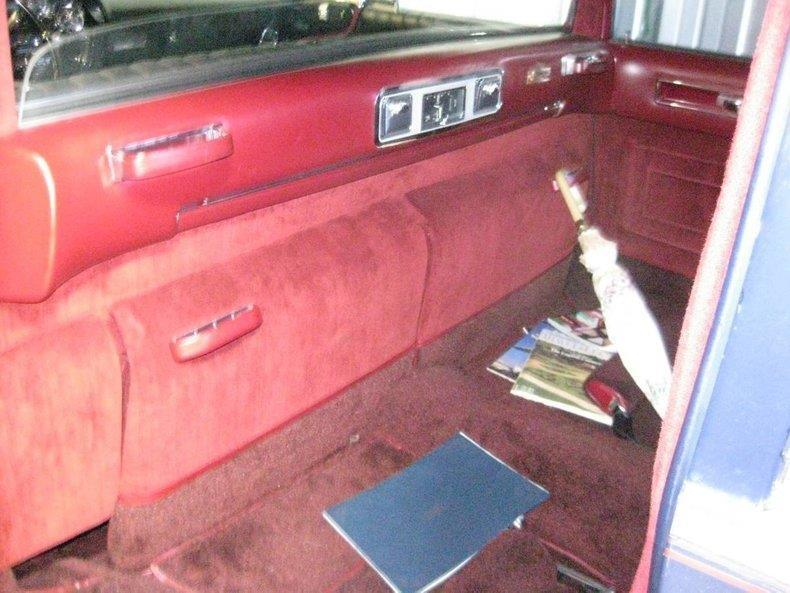garaged 1964 Cadillac Fleetwood Limousine