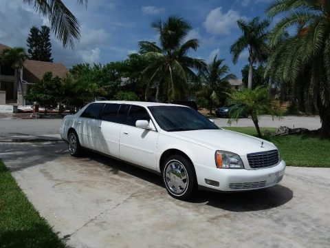 low miles 2004 Cadillac Deville Six Door Limousine for sale