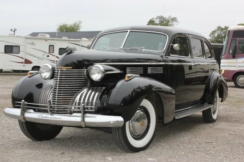 very rare 1940 Cadillac Fleetwood Series 72 limousine for sale