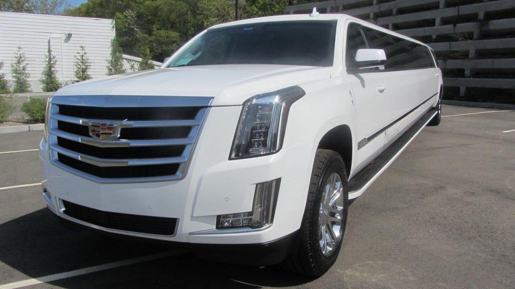 well maintained 2015 Cadillac Escalade custom limousine