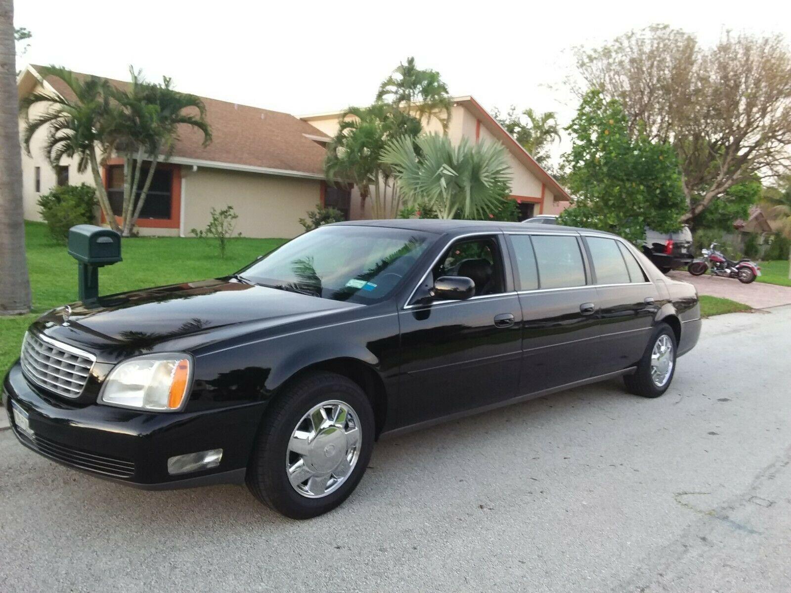 excellent 2004 Cadillac DTS Superior Limousine for sale