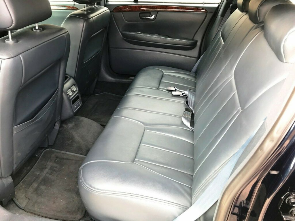 garaged 2007 Cadillac DTS Superior limousine