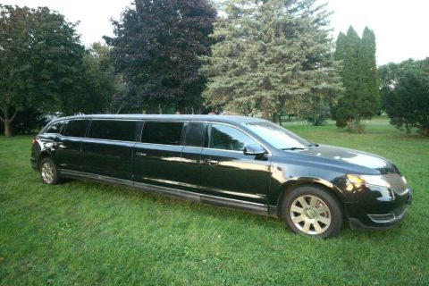 loaded with luxury 2013 Lincoln MKT Limousine for sale