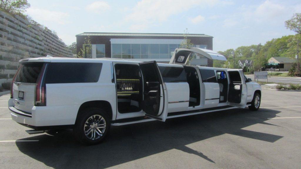 low miles 2015 Cadillac Escalade Limousine