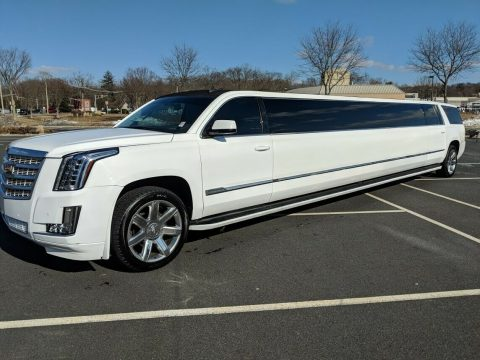 low miles 2015 Chevrolet Suburban limousine for sale