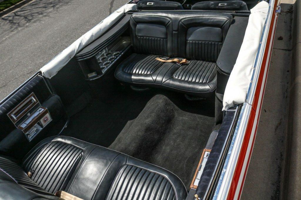 flag paint 1987 Cadillac Brougham Limousine