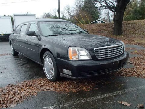 garaged 2001 Cadillac Deville Limousine for sale