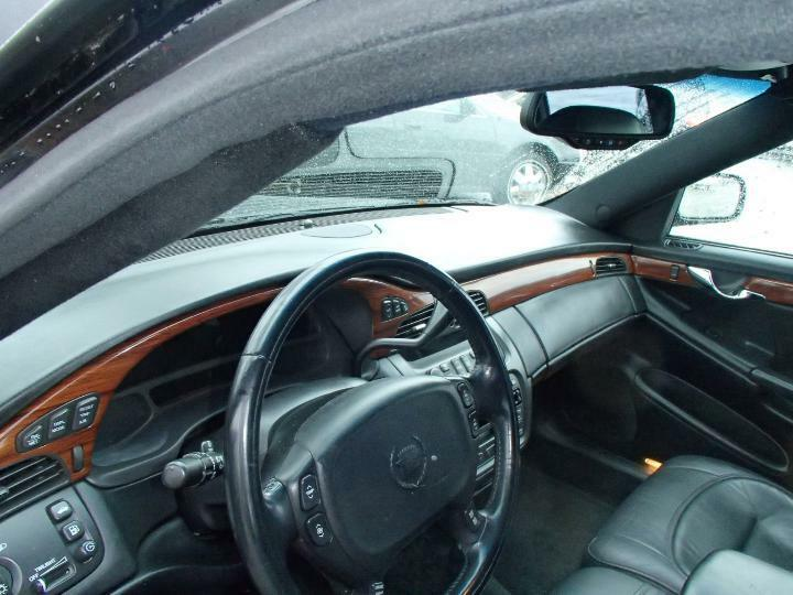 garaged 2001 Cadillac Deville Limousine