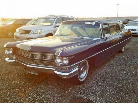 solid 1964 Cadillac Fleetwood limousine for sale